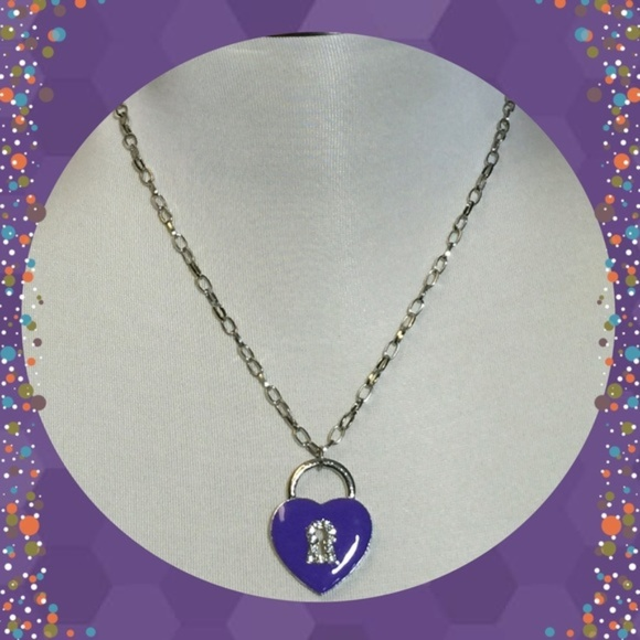 PassionKids Other - 4 for $12 Girls Purple Heart Necklace